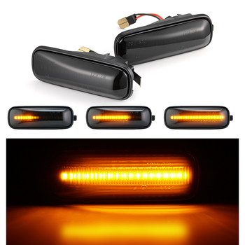 цена на Side Repeater Lamp Flowing LED Side Marker Lights Dynamic Turn Signal Light for HONDA Civic 96-00 CRV Ballade Hatchback Sedan