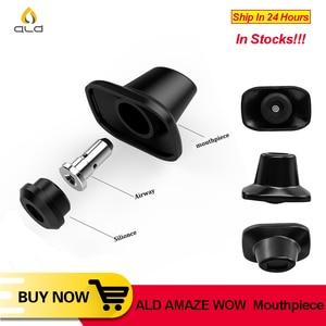 Image 1 - ALD AMAZE W0W Mouthpiece Replacement Drip Tip update design For ALD AMAZE WOW Dry Herb Vaporizer Vape Pen kit E Cig Accessories