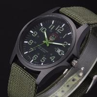 Outdoor Mannen Datum Rvs Militaire Sport Analoge Quartz Horloge Automatische Luxe Mannen Waterdichte Relogio Masculino