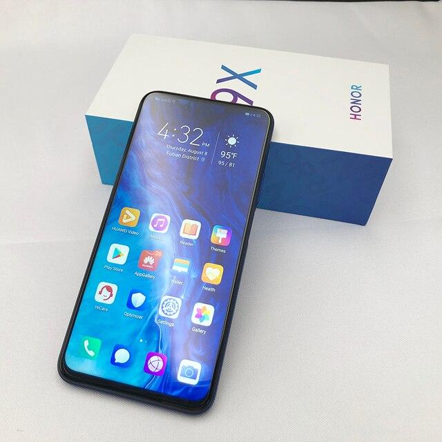 Honor 9x 9x pro Smart Phone Kirin 810 Octa Core 6.59 inch Lifting Full Screen 48MP Dual Cameras 4000mAh GPU Turbo Mobile Phone 3