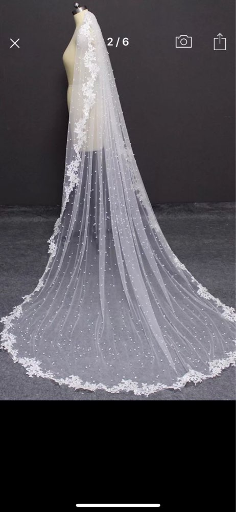 One Layer Catedral De Velo Bling Veil Custom Made 3M Wide Veil Bridal Wedding AccesBling Bride Veil Comb