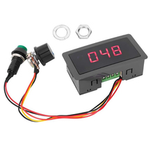 1PCS 6V 12V 24V 5A PWM DC Motor Speed Controller CCM5D Digital Display LED Motor Controller Speed Regulator