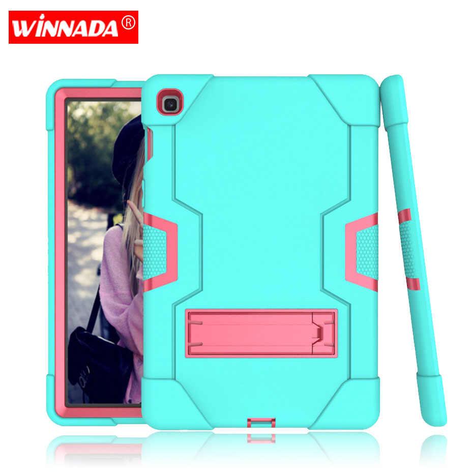 Untuk Samsung Galaxy Tab S5E SM-T720 SM-T725 10.5 Inch Case Silikon Tugas Berat Tablet Cover Shockproof Pelindung Berdiri untuk Anak-anak