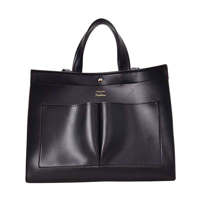 Image 5 - NEW 2019 big Women Handbag Leather Women Shoulder Bags Designer Women Messenger Bags Ladies Casual Tote Bags sac a mainShoulder Bags   -