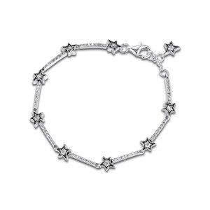 Image 4 - Noel göksel yıldız bilezikler takı yapımı Sterling gümüş takı kadın DIY moda bilezikler