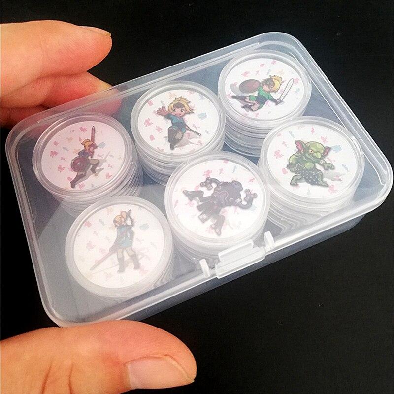24 pièces Zelda souffle de la Wild Card NFC pour Amiibo jeune lien réveil de Wolf Link Ntag215 étiquette à monnaie Tagmo Diablo Splatoon 2