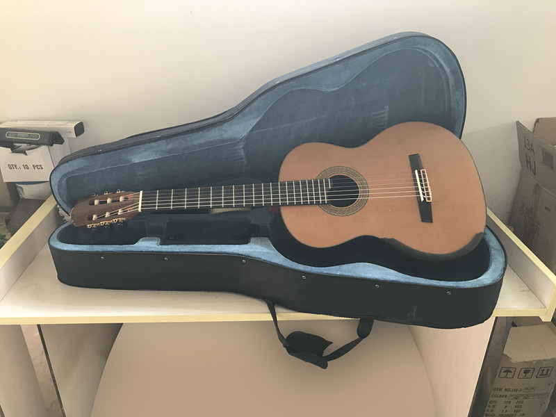 Clearance 100% new condition master level solid classical smallman guitar SC096S