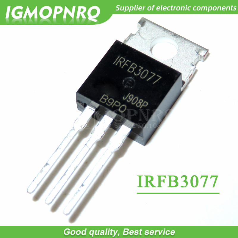 10PCS Free Shipping  IRFB3077  FB3077  TO-220 75V, 2.8mO, 210A, 370W Field Effect Tube 100% New Original