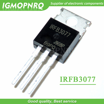 10PCS free shipping  IRFB3077 FB3077 TO-220 75V, 2.8mO, 210A, 370W field effect tube 100% new original - sale item Active Components