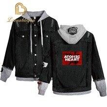 Women Jacket Anime Gaming Jackets Streetwear Hoody Denim Brand Coat  Women Cartoon Jackets