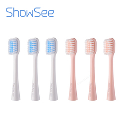 ShowSee Sonic Electric Toothbrush Heads 3PCS Smart Toothbrush DuPont brush head Mini Mi Clean Sonic Oral Hygiene