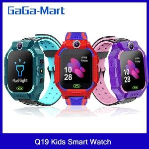 Image 1 - Q19 /G7/G5 çocuklar akıllı saat görüntülü sohbet akıllı oyunlar uzaktan fotoğraf SOS acil yardım akıllı saat