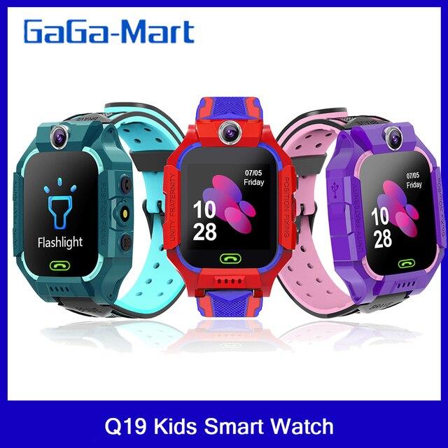 Q19 /G7/G5 çocuklar akıllı saat görüntülü sohbet akıllı oyunlar uzaktan fotoğraf SOS acil yardım akıllı saat