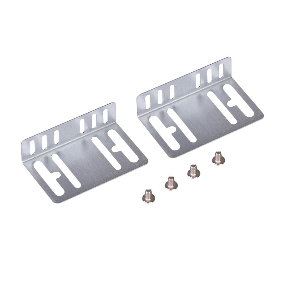 1 Set Metal Holder And Screw Fit For Universal 2 Din Car Radio MP5 Installation Mounting Accessories