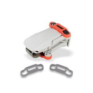Image 1 - Support de palette en Silicone à dégagement rapide pour DJI Mavic Mini Drone support de lames dhélice stabilisateur accessoires de protection support de fixation