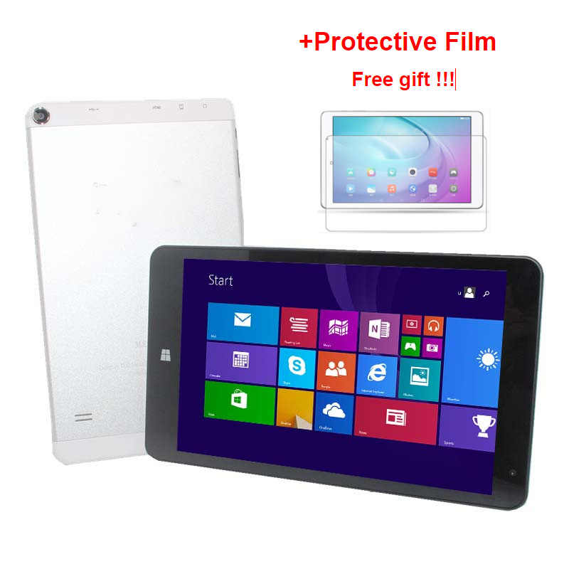 Tablet 618 polegadas me windows 8.1, com 1g + 16g touch screen 8.1x1280 película protetora ips hdmi 4000mah,