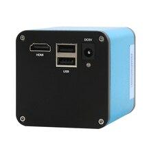 FHD 1080P SONY IMX290 przemysł autofokus pomiarowy kamera z mikroskopem wideo U rejestrator dysku C mocowanie kamery do lutowania SMD PCB