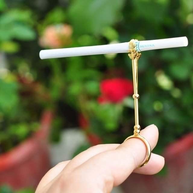 держатель для сигарет на палец купить