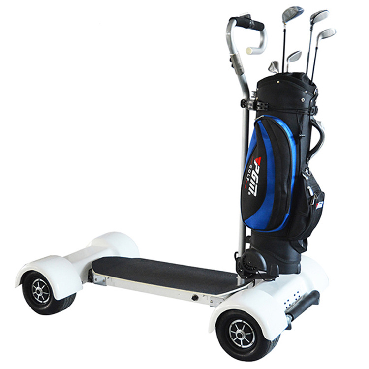 Four-wheel Balance Cart Golf Cart Electric Golf Trolley 5