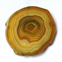 6cm 7cm 8cm Natural agate table  slices coasters natural cut polishing