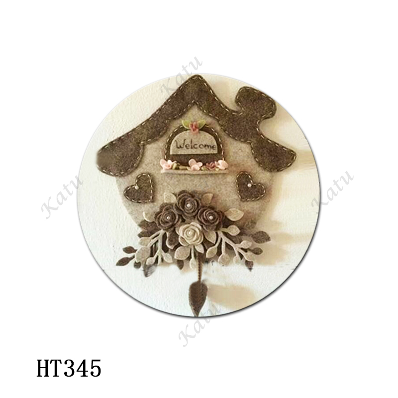 Decorated House Cutting dies - New Die Cutting And Wooden Mold,HT345 Suitable For Common Die Cutting Machines On The Market.
