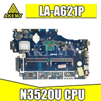 For Acer aspire E1-510 E1-510 laptop motherboard Z5WE3 LA-A621P mainboard N3520 BGA 100% fully tested