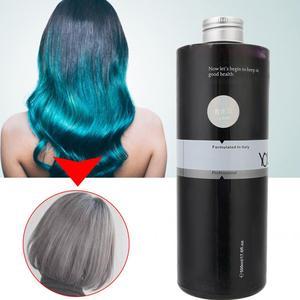 Image 5 - 500 Ml Kleurrijke Diy Haarverf Kleuren Crème Lange Lasing Semi Permanente Haarkleur Crème Kappers Gereedschappen Schoonheidssalon