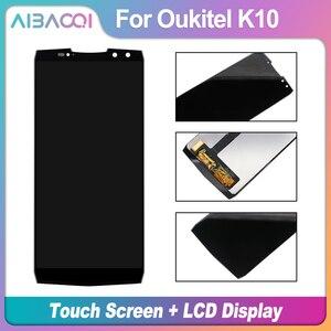 Image 2 - AiBaoQi nouveau Original 6.0 pouces écran tactile + 2160x1080 LCD écran assemblée remplacement pour Oukitel K10 téléphone