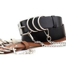 new luxury punkbelts for women luxury off white belt brand fashion women simple wild casual pants jeanschain belt corset belt