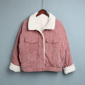 Vintage Stylish Women s Jacket Fleece Coat Women 2020 Autumn Winter Female Hooded Jacket Warm