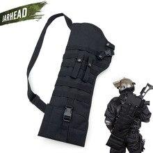 Outdoor Tactical Rifle Shotgun Nylon Bags Military Assault Long Gun Knife Bag Multi Function Portable Gunstock Bag