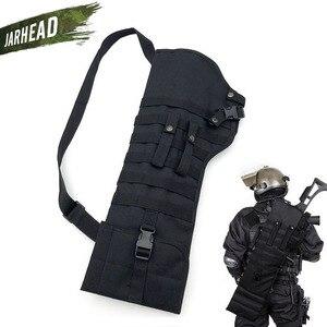 Image 1 - חיצוני טקטי רובה Shotgun ניילון שקיות צבאי ארוך תקיפת אקדח סכין תיק רב פונקציה נייד Gunstock תיק