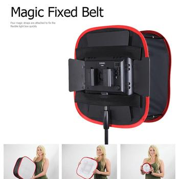 Portable Round Softbox Folding Collapsible Flash Light Diffuser Photography Studio Lighting Modifier For Camera LED Light Panel