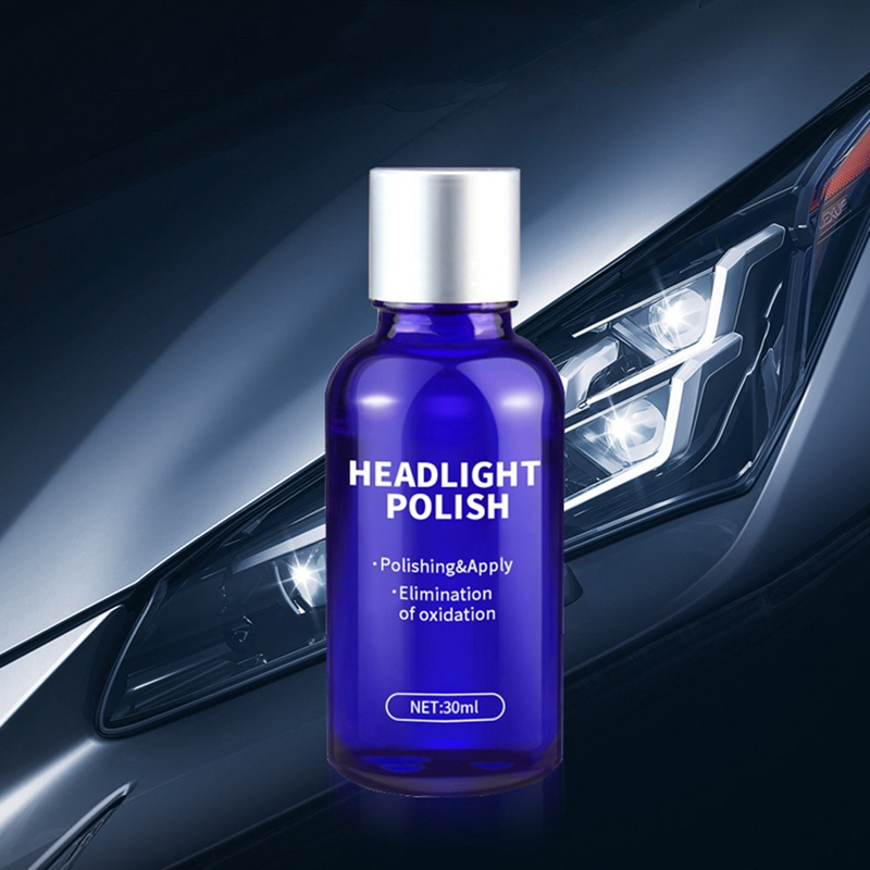 Car Lamp Headlights Repair Agent Plating Repair Kit Scratch Oxidation Polishing Coating Liquid Repair Tool Set|Paint Protective Foil| |  - title=