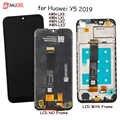 Wyświetlacz do Huawei Y5 2019 wyświetlacz Lcd dotykowy zespół czujnika ekranu do Huawei Y 5 2019 AMN-LX9, LX1, LX2, LX3 wyświetlacz