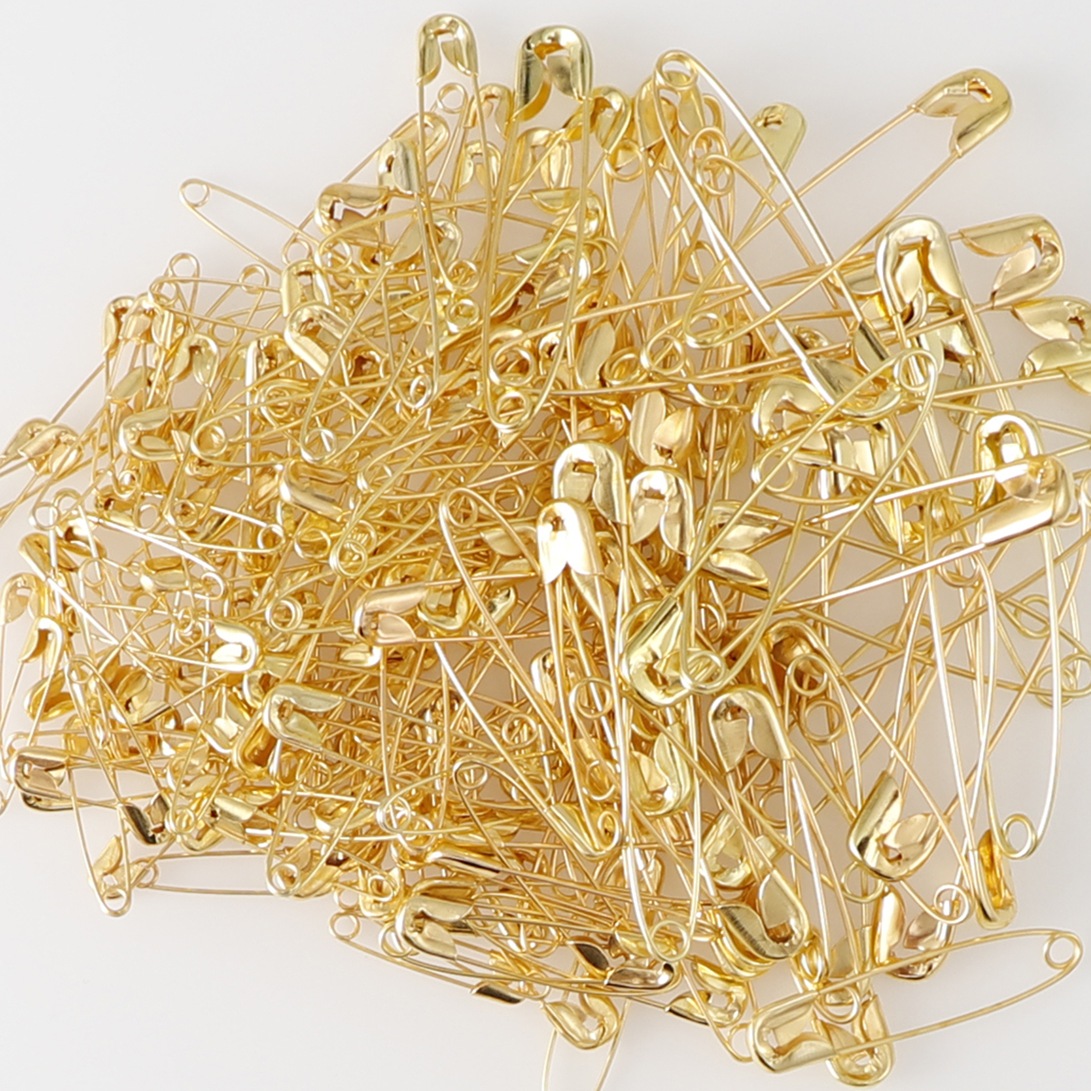 100Pcs Silver/Gold/Black Iron Safety Pins DIY Sewing Tools Accessory Large Safety Pin Small Brooch Apparel Accessories