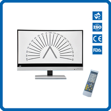 Manualfacture Price CM-1900C Eye Vision Test Chart with Flat Screen