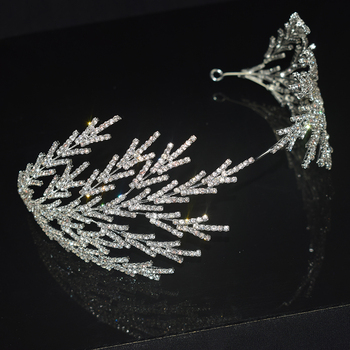 2021 Retro Luxury Bridal Hairband Headband Baroque Crystal Headdress Women Hairband Prom Girl Wedding Hair Accessories Headband