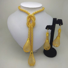 Kingdom Ma Fashion African Beads Jewelry Set Nigeria Women Necklace Earrings Jewelry Sets Dubai Gold color jewelry set mukun nigerian wedding african beads jewelry set brand bridal jewelry sets woman fashion dubai gold color jewelry set wholesale