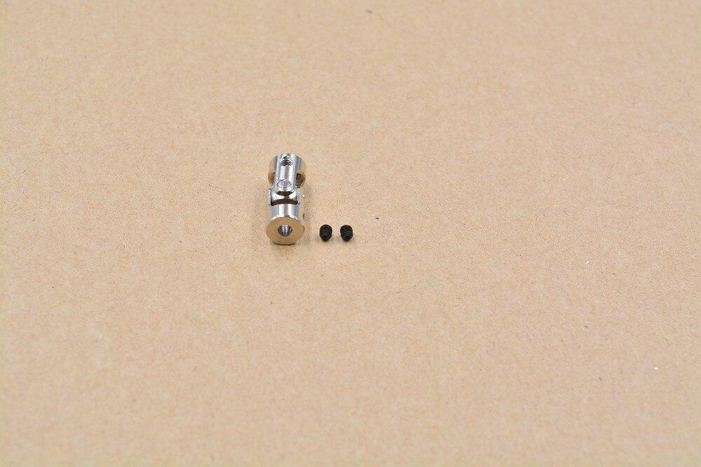 Мини-муфта универсальный шарнир диаметр 8 мм длина 18 мм много размеров модель корабля модель Автомобильная муфта карданный шарнир кардан