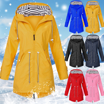 Autumn Zipper Windbreaker Women Windproof Jacket Outdoor Sport Hiking Jackets Women Jacket Windproof Coat Camping Plus Size