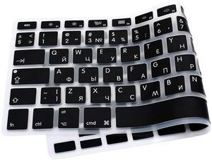 Image 3 - Чехол для клавиатуры Macbook Air 13 с русскими буквами, силиконовый защитный чехол для Mac Book Pro 13 15 Magic 1st Gen