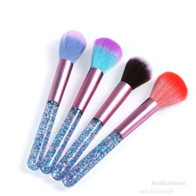 1pcs Nail Brush Cleaning Remove Dust Powder Art Manicure Pedicure Soft Acrylic Clean