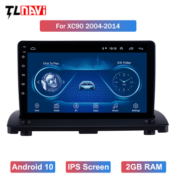 9 inch Android 10 Car Radio GPS Navi Multimedia Player For 1Volvo XC90 2004 2005 2006 2007 2008-2014 Head unit Stereo image