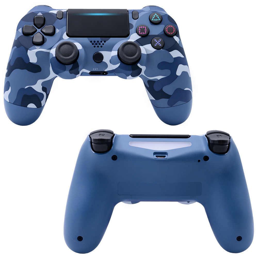 Wireless Gamepad untuk PS4 Controller Bluetooth Wireless Controller untuk PS4 Gamepad Cocok untuk PS3 untuk DualShock 4 Getaran Joystick