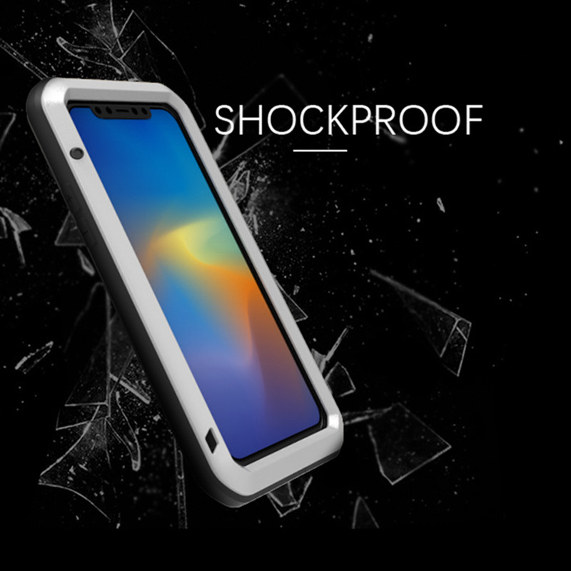 The Armour Aluminum Waterproof Case For iPhone