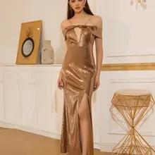 Angel-Fashions Off Shoulder Cut Out Slit Mermaid God Prom Dress New Elegant 593