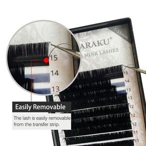 Image 3 - Nagaraku Wimpers Make Magnetische Wimpers 4 Cases/Lot 16 Rijen 7 15 Mix Hoge Kwaliteit Zacht Individuele Wimper valse Wimper