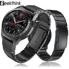 Ремешок из нержавеющей стали для samsung galaxy watch 3 45 мм