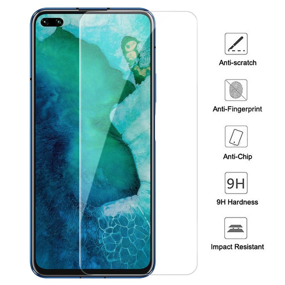 9H HD Kính Cường Lực Cho Huawei Honor 20 Pro Nova 5T V30 Pro Màn Hình Kính Bảo Vệ Cho Danh Dự nova5t Nova6 V30 Bảo Vệ Kính